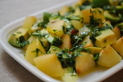 Plum Avocado Summer Salad