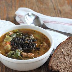 Soupe aux Pistou aux Olives