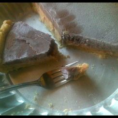 Icebox Peanut Butter Cream Pie: for Mikey