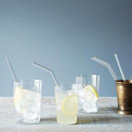 Glass Straws (Set of 4)