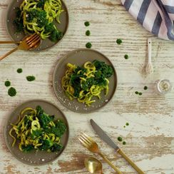 Kale and Pesto Pasta
