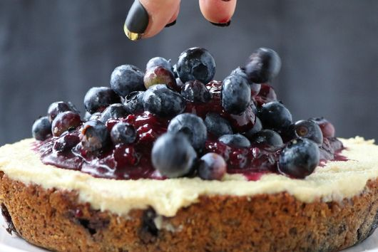 Blueberry & Lemon Snacking Cake