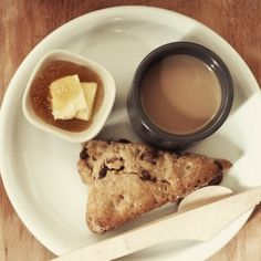 Maple Walnut Chocolate Chip Sea Salt Scones