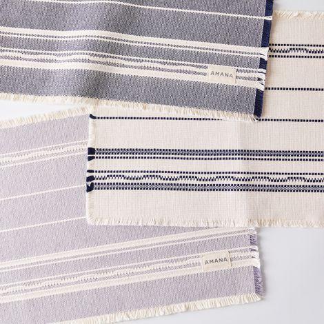 Amana Fringe Cotton Placemats (Set of 4)