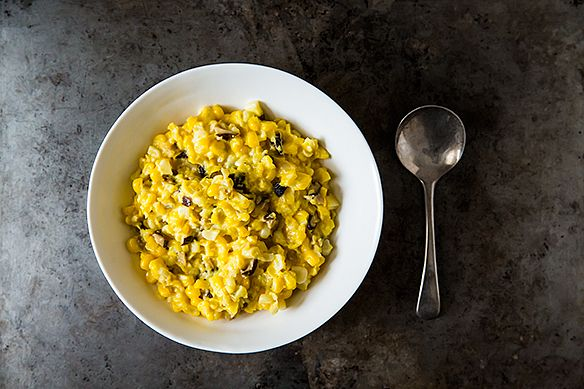Creamless creamed corn from Food52
