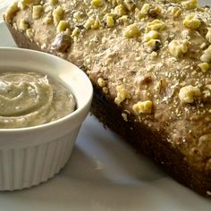 Banana Maple Walnut Bread with Maple Walnut Butter