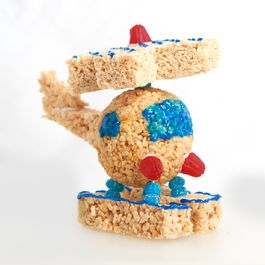Rice Krispies #TreatsForToys – Helicopter