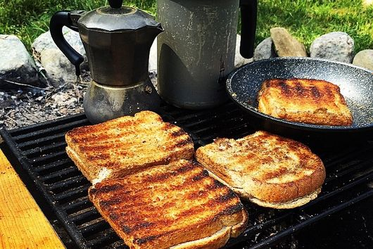 Grilled Grill Cheese Sandwiches