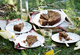Apple Spiced Coffeecake