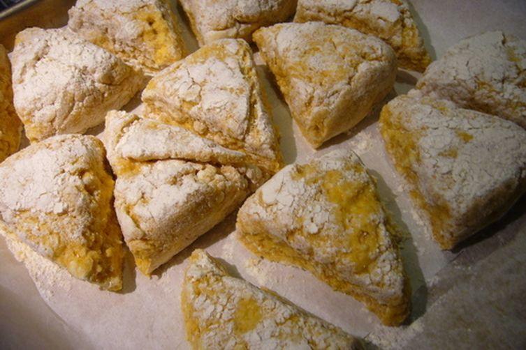 Butternut Sage Scones