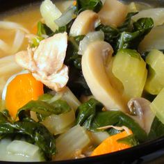 Chicken and Bok Choy Pho