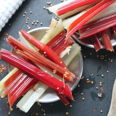 Pickled Chard Stems