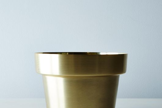 Brass Flower Pot
