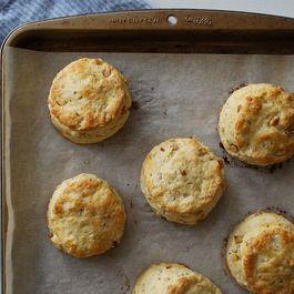 Parmesan & Pine Nut Biscuits