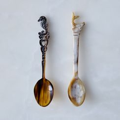 Hand-Carved Horn Spoons