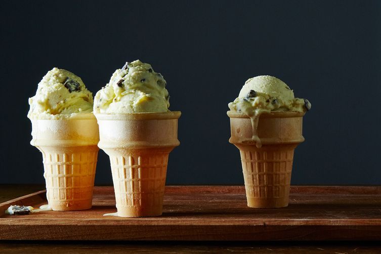 Fresh Mint Chip Ice Cream
