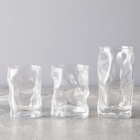 Italian Crinkle Glasses (Set of 6)