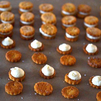 Gluten-Free Ritz Bits-Style Crackers