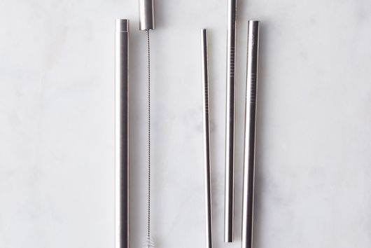 Metallic Straw Wand Set
