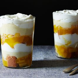 Mango-Lime Trifle with Brown Butter Cake
