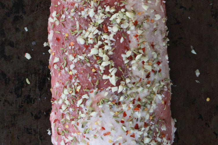 Garlic Fennel Pork Roast