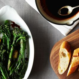 Rapini and Broccoli by Donna Goldsmith