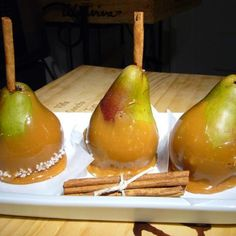 Sea Salted Caramel Pears