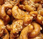 Honey Sesame Cashews