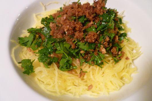 Spaghetti Squash Aio e Oio