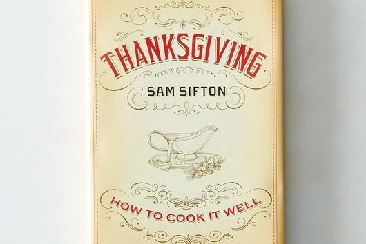 Sam Sifton Thanksgiving, Signed Copy