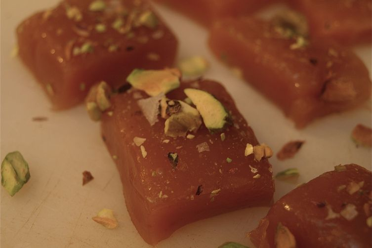 Salted Orange Cardamom Caramels – with or without pistachios or chocolate