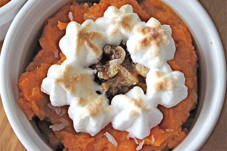 Coconut Spiced Sweet Potato Casserole