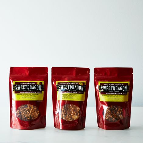 "Serrano Chili, Chicharron & ""Day at the Stadium"" Peanut Brittle Bundle"