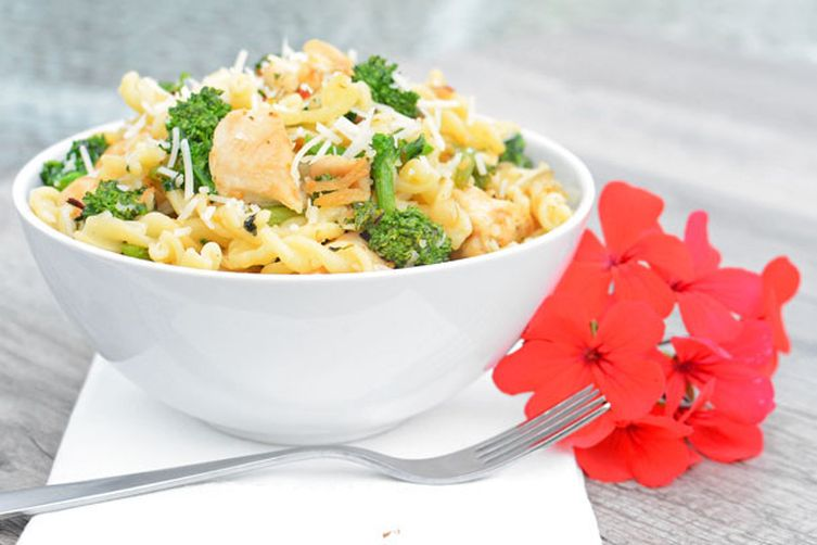 Broccoli Rabe Chicken Pasta Bowl