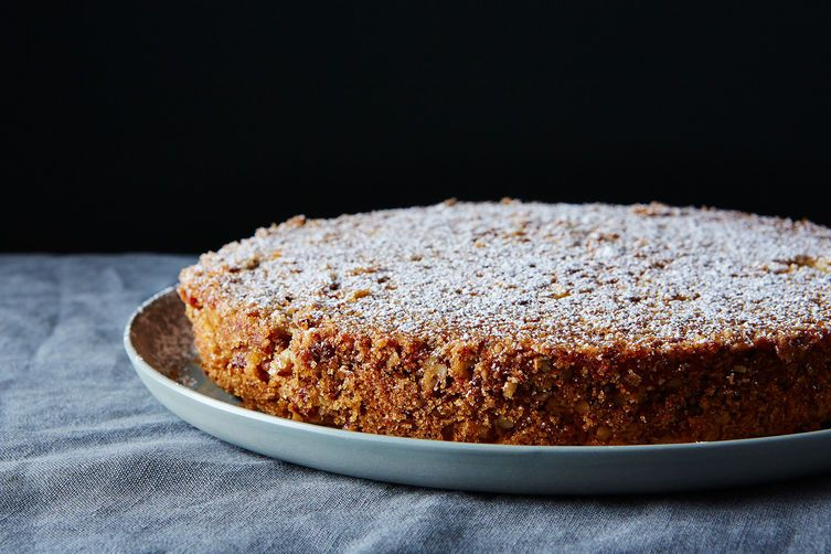 How To Use Oat Flour Pecan Crusted Oat Flour Sponge Cake