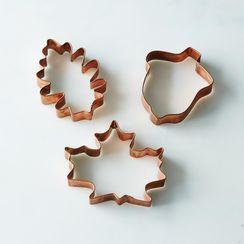 Seasonal Copper Cookie Cutters