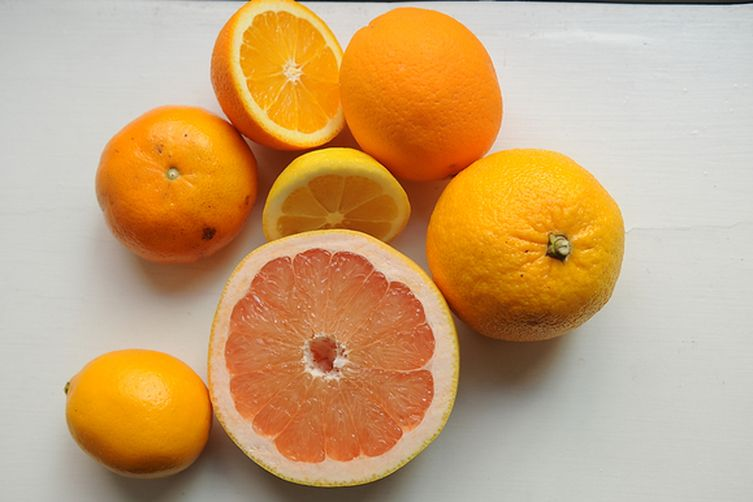 Caramelized Grapefruit Vinaigrette