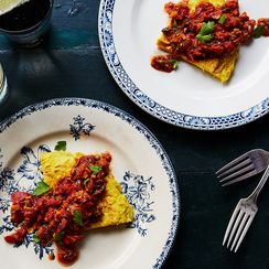 A Pantry-Friendly Frittata Drowned in Tomato Sauce (For Guaranteed Flavor)