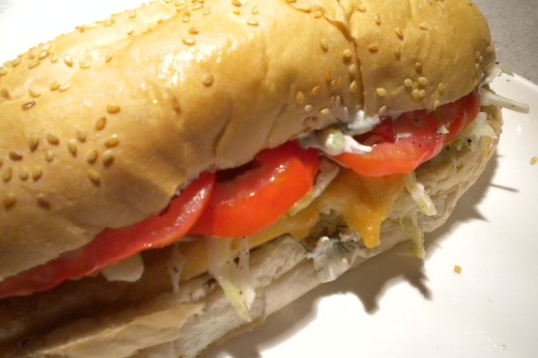 The Fish King and Queen's Fish Sandwich