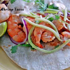 Grilled Ponzu Shrimp Tacos