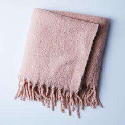 Simple Mohair Throw