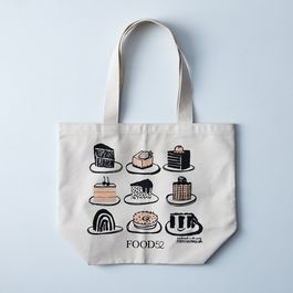 Food52 x People I've Loved Illustrated Desserts Tote