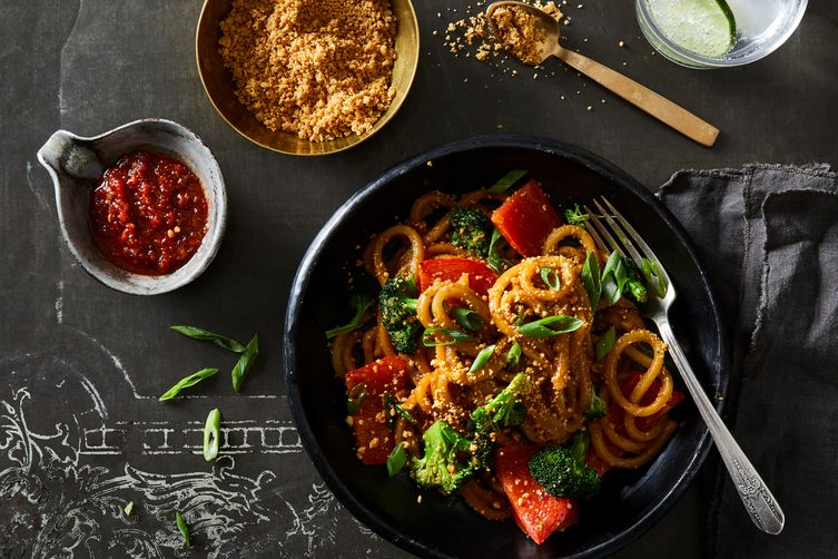 Indian Peanutty Noodles