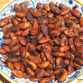 Chili Lime Spiced Roasted Almonds