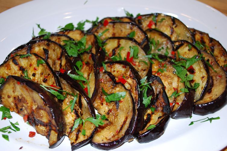 recipe: grilled eggplant side dish [33]