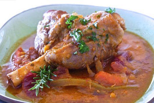 Lamb Shank Italian Way
