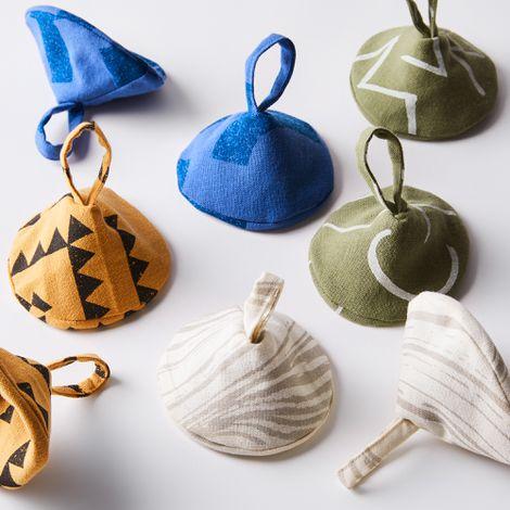 Handmade Cotton Pot Holders (Set of 2)