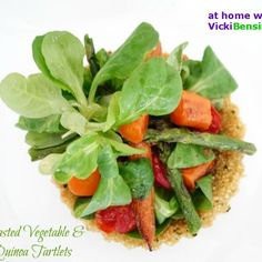 Roasted Vegetables & Quinoa Tartlets