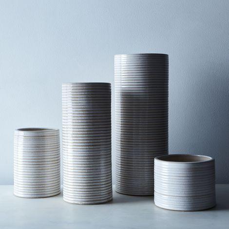 Ceramic Cylinder Vases