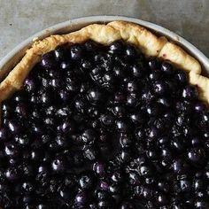 Rose Levy Beranbaum's Fresh Blueberry Pie